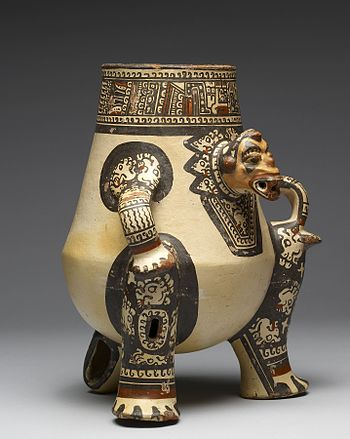 Guanacaste-Nicoya - Shaman Effigy Vessel - Walters 20092056 - Three Quarter Right.jpg