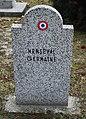GuentherZ 2013-01-12 0318 Wien11 Zentralfriedhof Gruppe88 Soldatenfriedhof franzoesisch WK2 Henseval Germaine.JPG