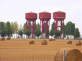 Water towers in Guillaucourt