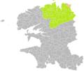 Guimaëc (Finistère) dans son Arrondissement.png