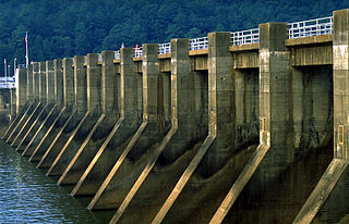 Guntersville Dam hydroelectric dam on the Tennessee River in Marshall County, in the U.S. state of Alabama