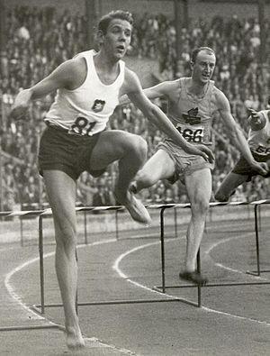 Håkan Lidman - Lidman (left) vs. Sten Pettersson in 1935
