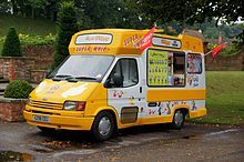 Hitchhiker's Guide to the Galaxy on Ice cream van