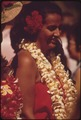 HAWAIIANS READY TO DEMONSTRATE HULA DANCE TO WAIKIKI BEACH TOURISTS - NARA - 553916.tif