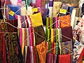 HK 上環 Sheung Wan 西港城 Western Market 花布街 Cloth shop January 2019 SSG 11.jpg