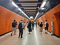 HK 港鐵 MTR 北角站 North Point Station 月台轉車隧道 interchange tunnel interior May 2018 LGM 02.jpg