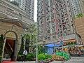 HK 灣仔 Wan Chai 太原街 Tai Yuen Street 囍匯5座 The Avenue entrance n property agent view 太原閣 Tai Yuen Court facade May-2014.JPG