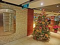 HK 銅鑼灣 CWB 柏寧酒店 The Park Lane Hotel night shopping mall Style House interior sign n Xmas tree Dec-2013.JPG