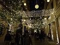 HK Wan Chai night Lee Tung Avenue lighting Dec-2015 DSC 001.JPG