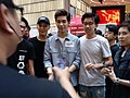 HK cwb 銅鑼灣 Causeway Bay 記利佐治街 Great George Street singer 林奕匡 Phil Lam n friends April 2018 LGM 01.jpg