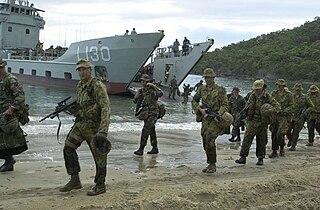 Amphibious warfare ships of Australia