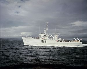 HMCS Miramichi (MCB 163) - Miramichi between 1957 and 1965