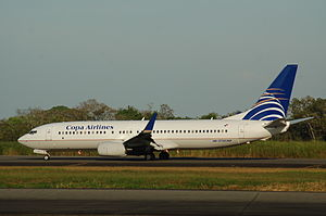 Tocumen International Airport - Copa Airlines Boeing 737-800 at Tocumen International Airport