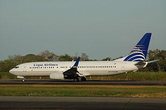 Tocumen International Airport - Copa Airlines Boeing 737-800 at Tocumen International Airport