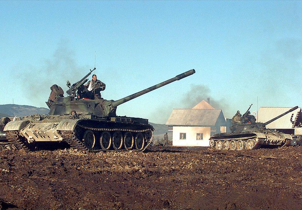 HVO Army T-55 Glamoc setup