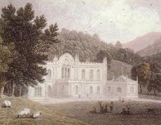 Hafod Uchtryd - Hafod Uchtryd circa 1795
