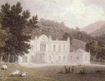 Hafod Uchtryd circa 1795