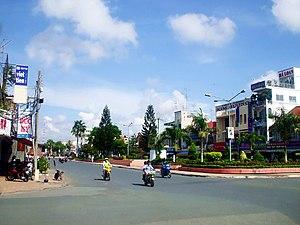 Provincial city (Vietnam) - Công viên Hai Bà Trưng, Long xuyên