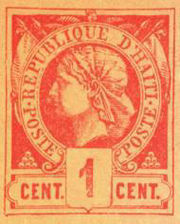 Haiti 1c liberty head stamp 1881.jpg