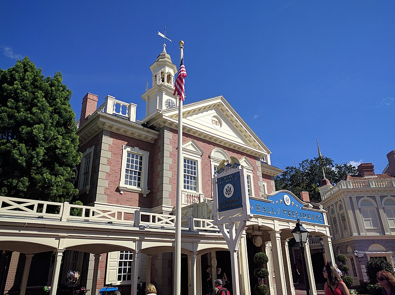 File:Hall of Presidents on Election Day (30230222304).jpg