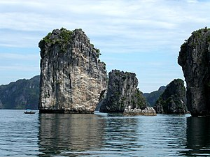 Hạ Long Bay - Image: Halong Bay in Vietnam