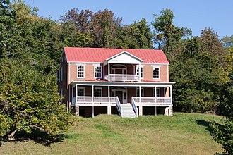 Whiteley Township, Greene County, Pennsylvania - The Hamilton-Ely Farmstead, a historic site in the township