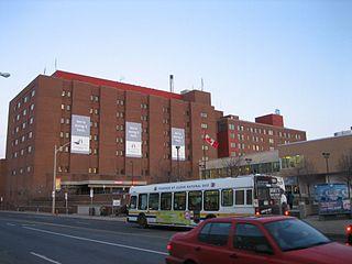 Hospital in Ontario, Canada