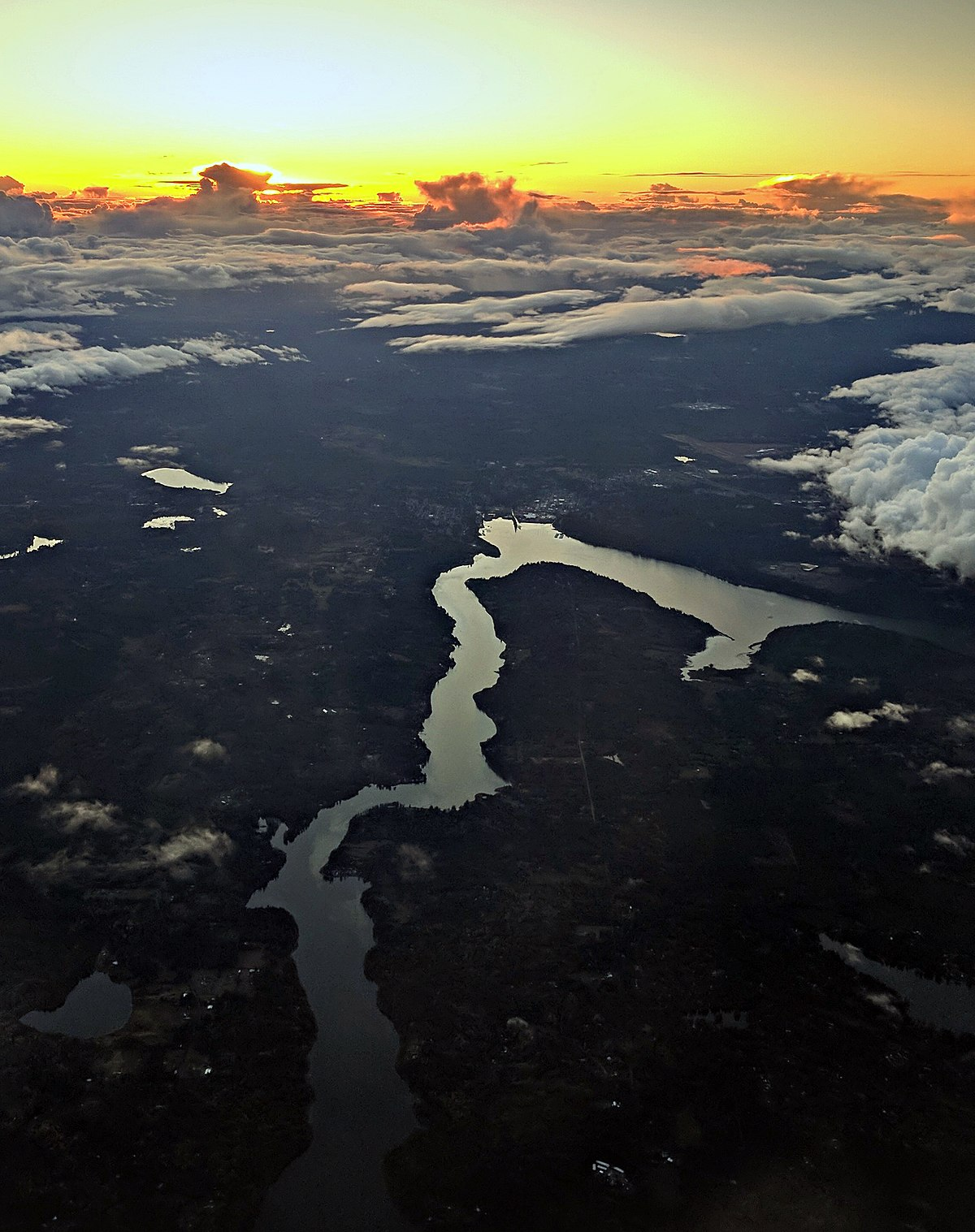 How Many Miles From >> Hammersley Inlet - Wikipedia