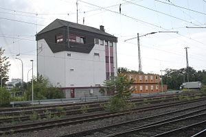 Hanau Hauptbahnhof - Signal box