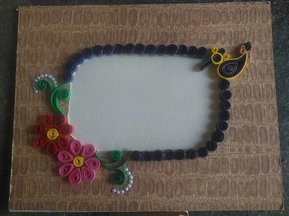 Handmade frame work