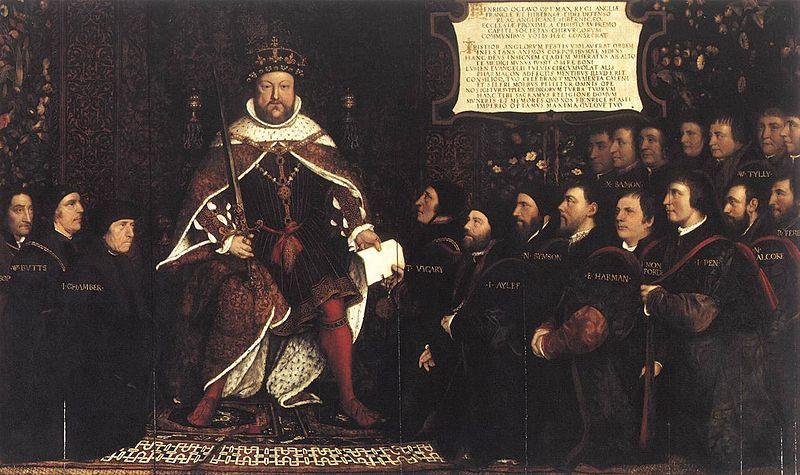 File:Hans Holbein d. J. - Henry VIII and the Barber Surgeons - WGA11566.jpg