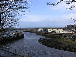 Harbour in Girvan