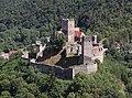 Hardegg - castle Hardegg from Maxplateau view pic01.jpg