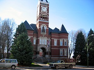 Hardin County, Iowa - Image: Hardin County IA Courthouse