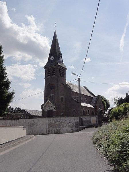 Hargicourt (Aisne) église