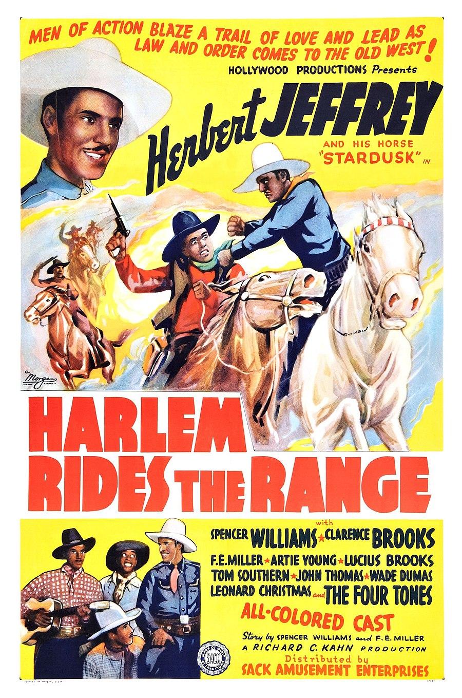Harlem Rides the Range