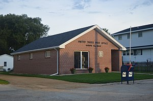 Harmon, Illinois - Village post office