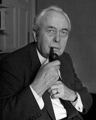 Harold Wilson - Harold Wilson in 1986 by Allan Warren