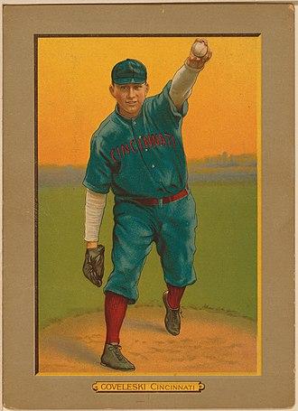 Harry Coveleski - Harry Coveleski baseball card