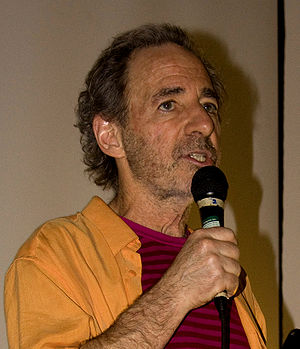 Harry Shearer - Shearer giving a speech in August 2009