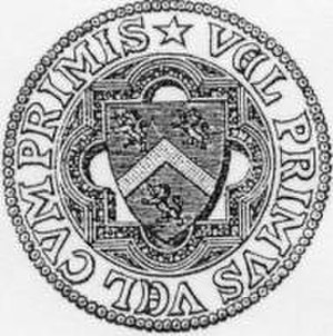 Hatfield College, Durham - Original arms