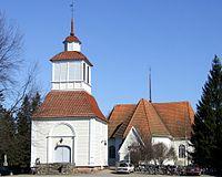 Haukipudas-Church Bellfry 2006 04 30.JPG
