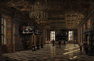 The Great Hall at Frederiksborg Castle during the Reign of Christian IV