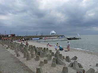 Hel, Poland - Image: Hel beach 1