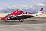Heli Services Pty Ltd (VH-LBJ) Agusta A109S Grand taxiing at Wagga Wagga Airport.jpg