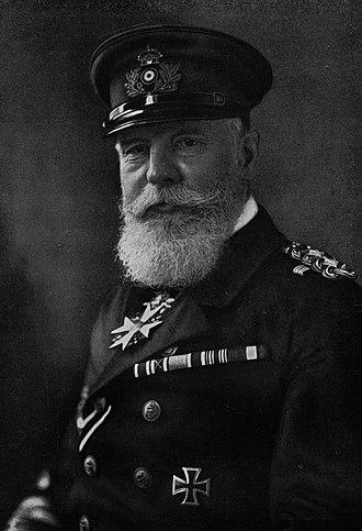 Henning von Holtzendorff - Admiral von Holtzendorff in 1918