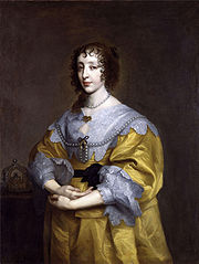 Henrietta Maria (c. 1633) by Sir Anthony van Dyck
