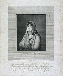 Henriette Rosine Hendel-Schütz (1809) (Quelle: Wikimedia)