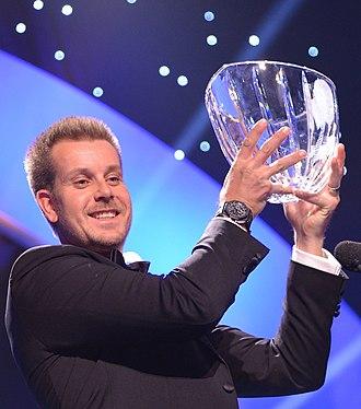Henrik Stenson - Stenson won the Radiosportens Jerringpris for his performance in the 2013 season.