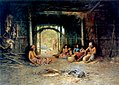 Henry Raschen - Interior of a Pomo Dwelling.jpg
